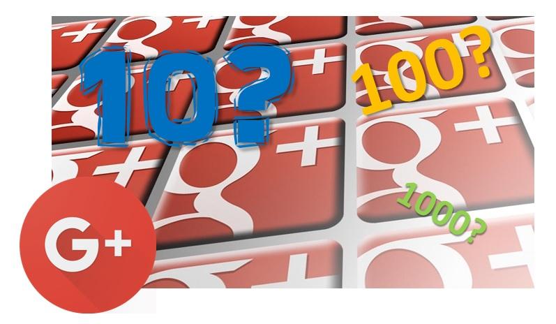 Google+ Plus - SEO metrics How many