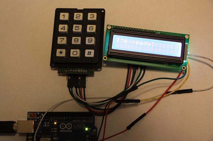 LCD03 - Integrating a liquid crystal display LCD and a