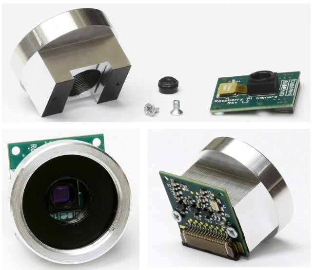 Using Canon and Nikon lenses with Raspberry Pi - Meccanismo