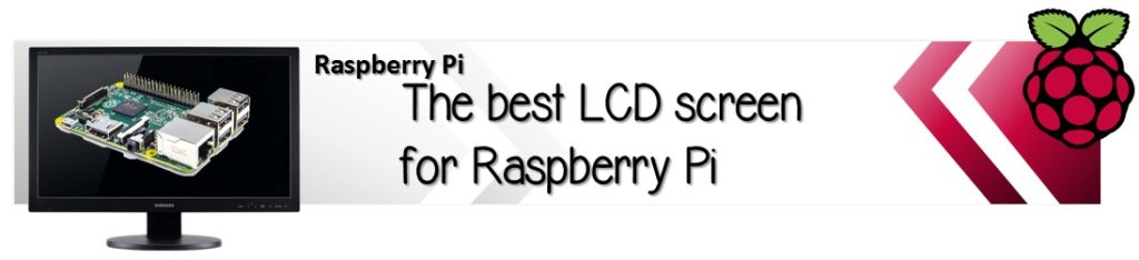 LCD monitor screen display for Raspnerry Pi