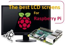 LCD monitor display screen for Raspberry