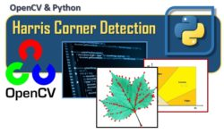OpenCV and Python - Harris Corner Detection - a method to detect corners in an image