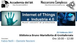 Seminario - Internet of Things e Industria 4.0