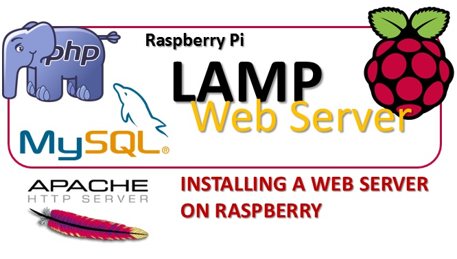 Raspbery Pi LAMP - Installing a web server on Raspberry m