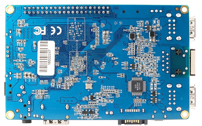 Orange Pi 2 Plus rear