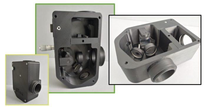 LOWSCOPE - optical spectroscope 3d printed