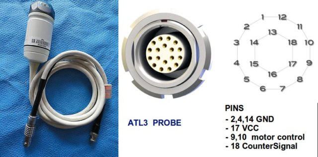 Morgen Project - ATL3 Probe transducer for ultrasound imaging