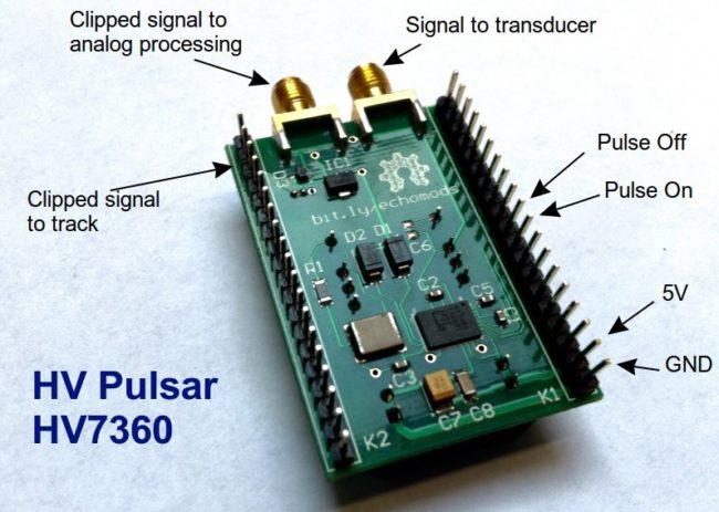 Morgen Project - HV7360 HV pulser opensource