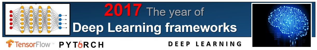 2017 the year of Deep Learning frameworks b