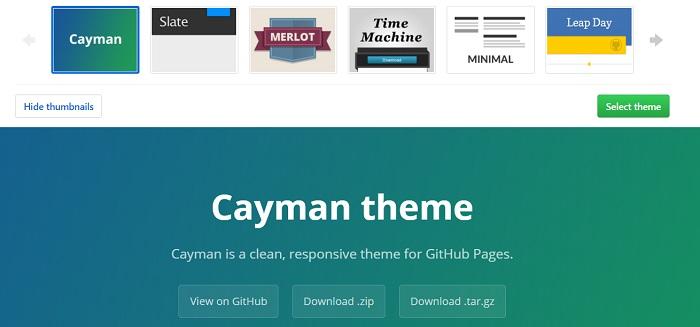 How to - come aggiungete un tema ad una web page di GitHub - 02