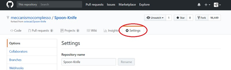 How to remove a repository on GitHub 02