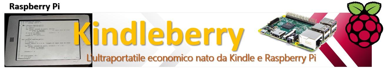 Kindleberry - l'ultraportatile economico con kindle e raspberry pi
