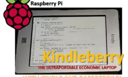 Kindleberry - the ultraportable economic laptop with kindle and raspberry pi m