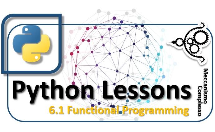 Python Lesson - 6.1 Functional Programming m
