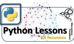 Python Lesson - 6.6 Recursions m