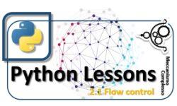 Python Lessons - 2.1 Flow control