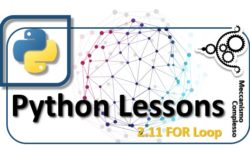 Python Lessons - 2.11 The FOR Loop m