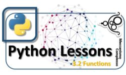 Python Lessons - 3.2 Functions m