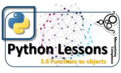 Python Lessons - 3.6 Functions as objects m
