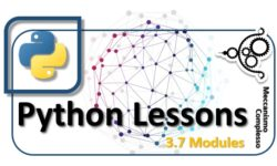 Python Lessons - 3.7 Modules