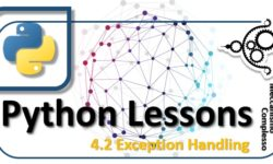 Python Lessons - 4.2 Exception Handling m