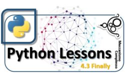 Python Lessons - 4.3 Finally