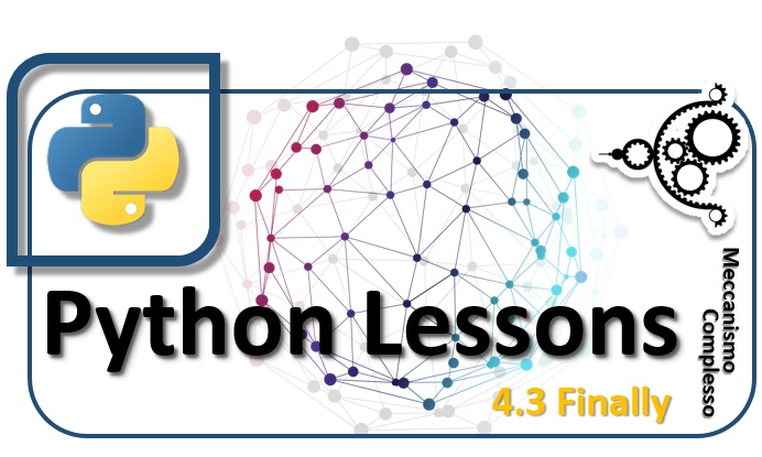Python Lessons - 4.3 Finally
