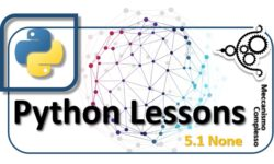 Python Lessons - 5.1 None m
