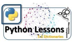 Python Lessons - 5.2 Dictionaries m