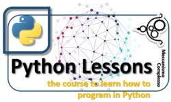 Python Lessons - the course to learn how to program in Python m