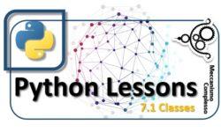 Python lessons - 7.1 Classes m