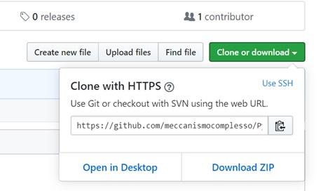 Clonare un repository da GitHub 01