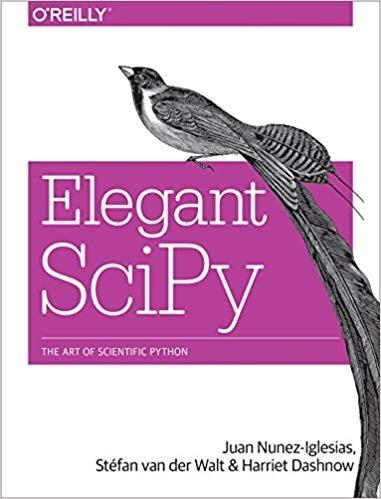 Elegant SciPy book - O'Reilly