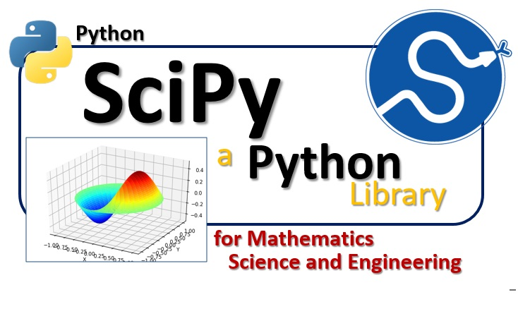 SciPy, a Python library for mathematics, science and engineering