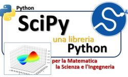 SciPy una libreria Python per la matematica, la scienza e l'ingegneria