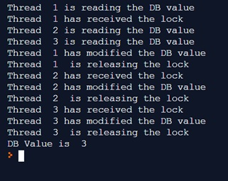 Thread in Python - Lock