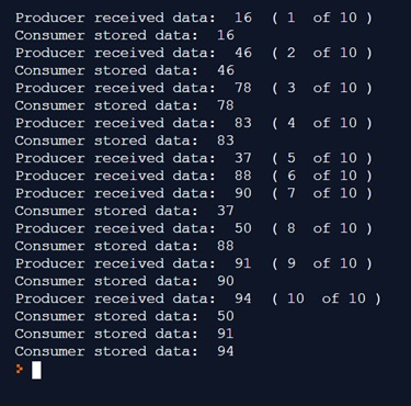 Thread in Python - Producer Consumer