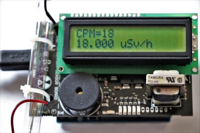Meccanismo Complesso - Contatore Geiger con Arduino