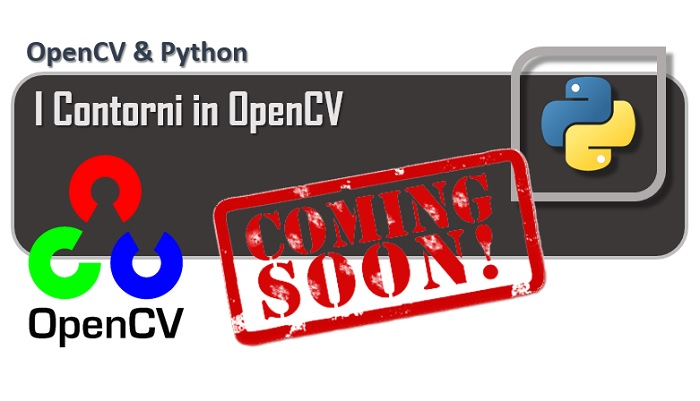 OpenCV - I contorni in OpenCV coming soon
