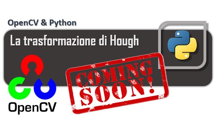 OpenCV - La trasformazione di Hough coming soon
