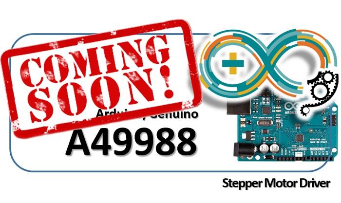 Arduino - A49988 Stepper Motor Driver