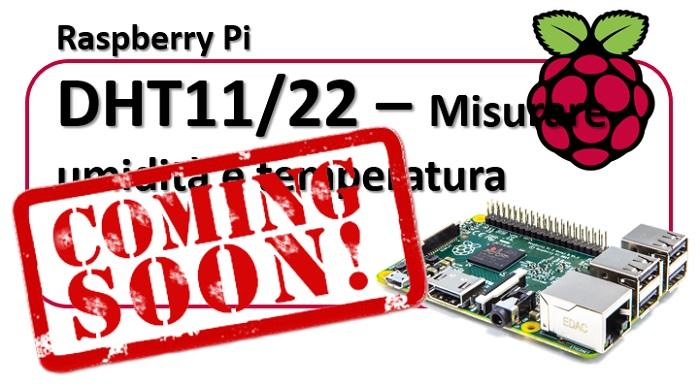 Raspberry Pi - DHT11 misurare temperatura e umidità