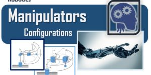 Robotics - The manipulators - the most common configurations