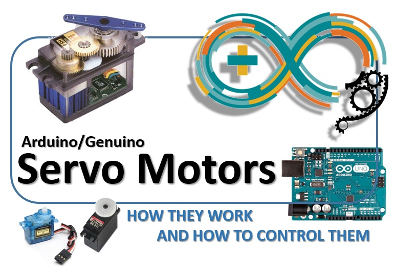 Arduino - Servo Motors, how they work and how to control them