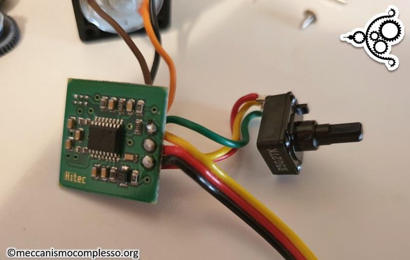 Arduino - Servo motore - controllore con potenziometro