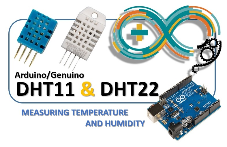 DHT11 e DHT22 sensors - Measuring temperature and humidity