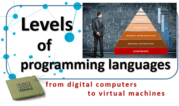 Levels of programming languages - from digital computers to virtual machines