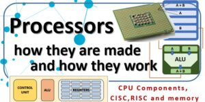 Processors, how they are made and how they work