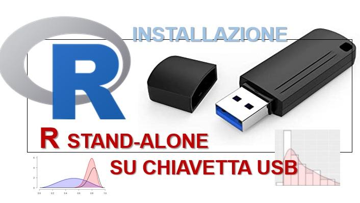 Installazione di R stand-alone su chiavetta USB da Windows