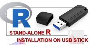Stand-alone R installation on USB Stick